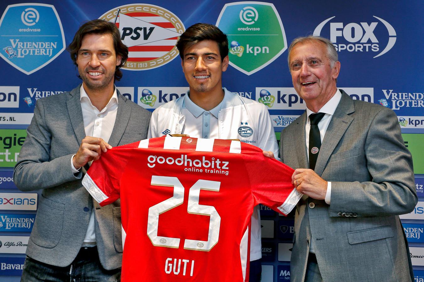 Érick Gutiérrez is een van de topaankoop van PSV in 2018.