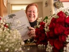 Geluk zit voor Margareth Pasman uit Harderwijk in het bloemstuk na de dood