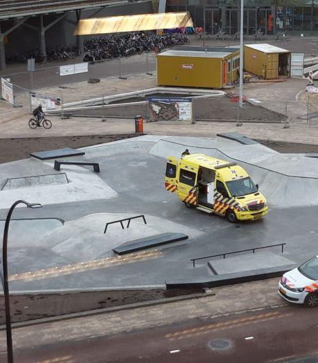 Binnen een dag eerste slachtoffer nieuwe skatepark in Hengelo