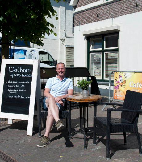Horeca in Langstraat Wijhe past en meet: Extra terrasruimte gevonden
