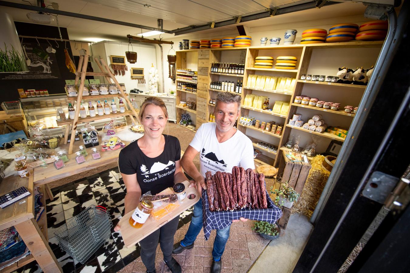 Annemiek en Sander Bouwhuis.
