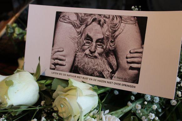 Het gedenkprentje van Pim De Rudder.