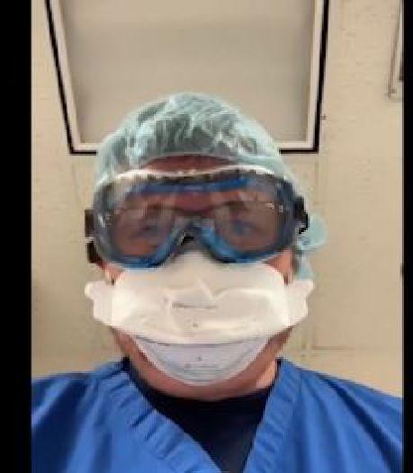 """Le cri d'alarme d'un médecin américain: """"Voilà ce que vous verrez avant de mourir si vous ne portez pas de masque"""""""