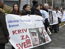 Veel pers en nabestaanden bij uitspraak Ratko Mladic