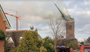 De kerktoren stort in in Hoogmade