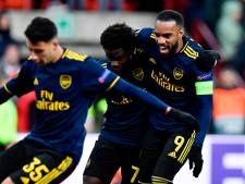 Arsenal met hangen en wurgen naar knock-outfase Europa League