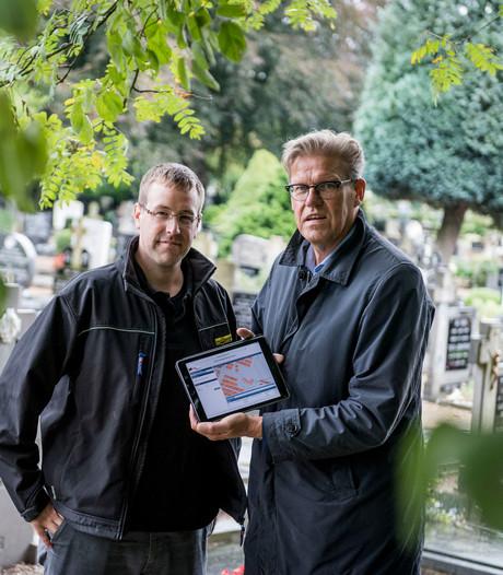 Bornse begraafplaats digitaal op de kaart gezet