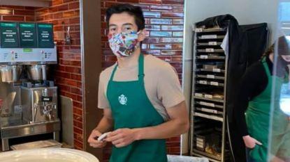 Klant zonder mondmasker eist helft 'fooi' van 90.000 euro ingezameld voor barista die weigerde haar te bedienen