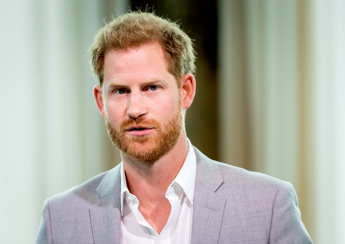 Le prince Harry.