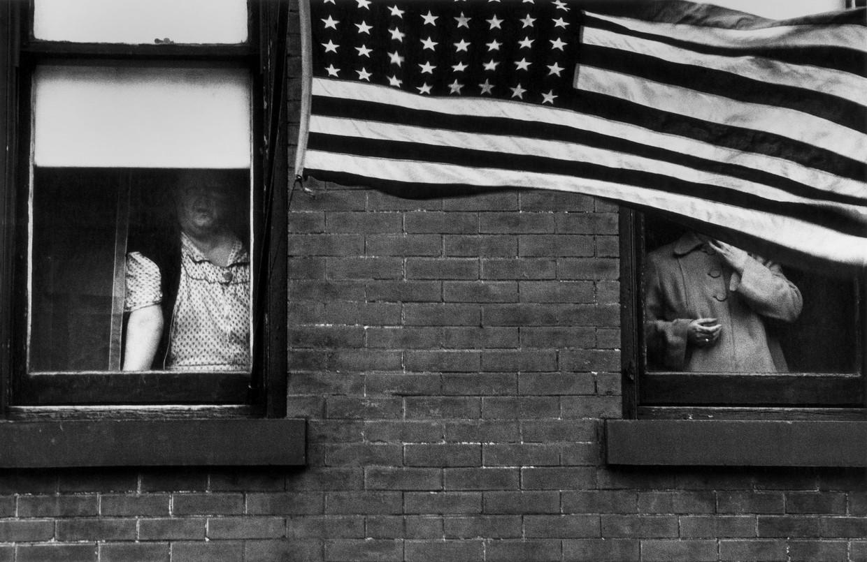Robert Frank was de vader van de momentfotografie.