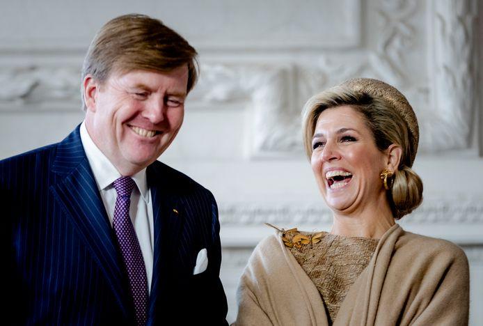 Het Nederlandse koningspaar.