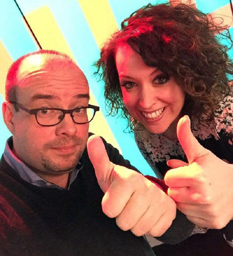 Sven Ornelis en Anke Buckinx vormen binnenkort het nieuwe ochtendduo van JOE.