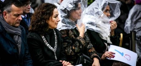 Rutte en Halsema bij Nationale Holocaust Herdenking in Amsterdam