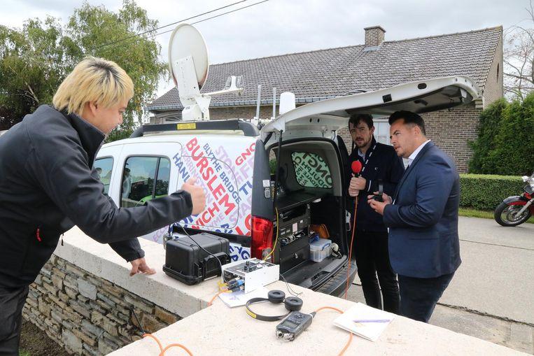 BBC radiostation Stoke rukte uit met de grote middelen.