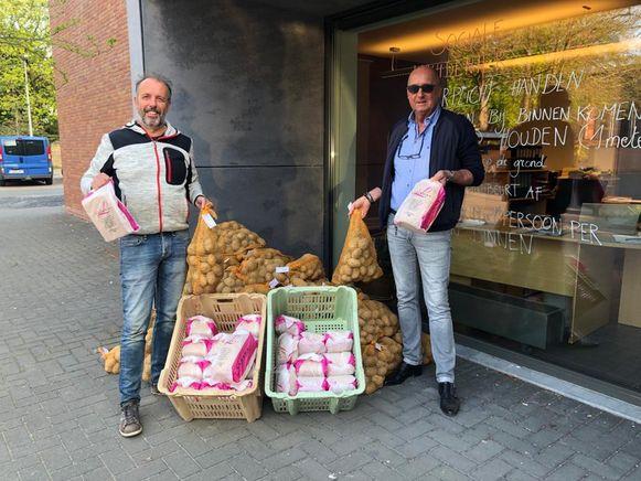 Brood en aardappelen: de basisbehoeften voor de voedselbanken.