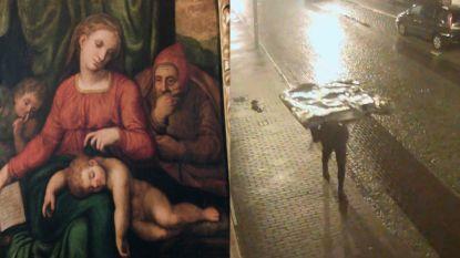 Dief die loodzware 'Michelangelo' stal nog altijd niet gevonden