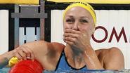 Zweedse Sarah Sjöström wint 100 meter vlinderslag in wereldrecord