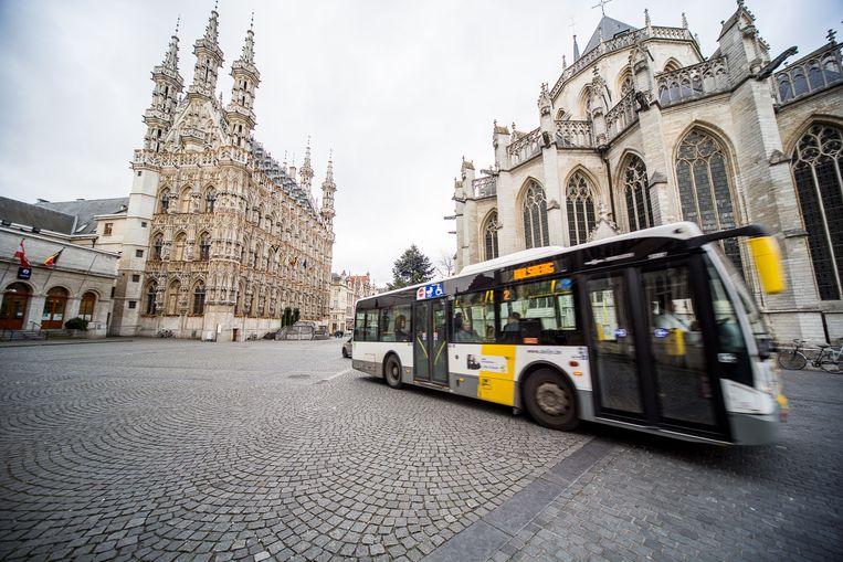 Het stadhuis van Leuven.