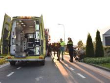Bromfietser gewond bij ongeval in Poederoijen