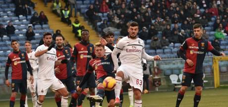 AC Milan klimt naar vierde plaats dankzij zege op Genoa