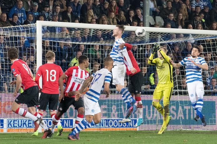 Hidde Jurjus wil eerste doelman van PSV worden.
