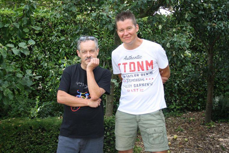 Bedenkers Ghis Reyniers en Tim Maenhout.