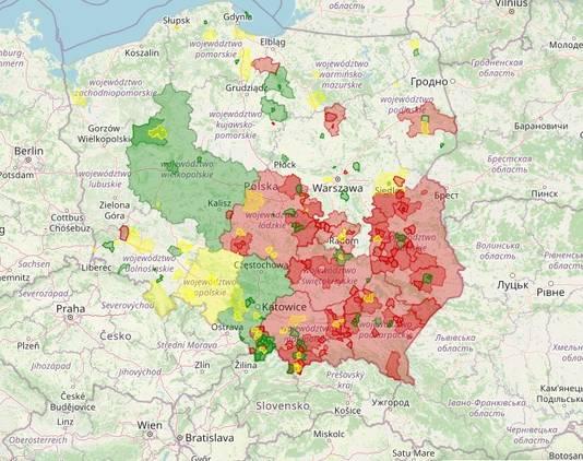 'LHBT-vrije zones' in Polen