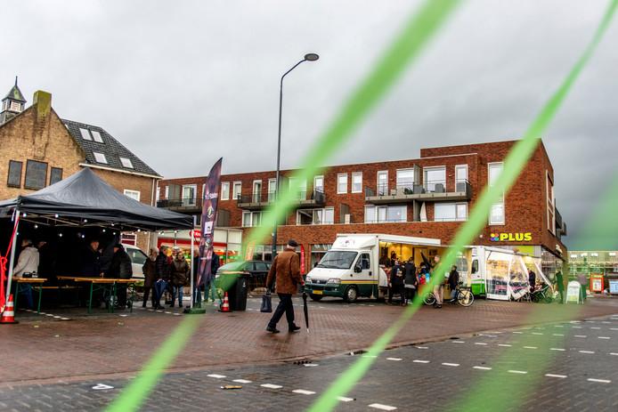 Sprang-Capelle Raadhuisplein Officiele opening Raadhuisplein