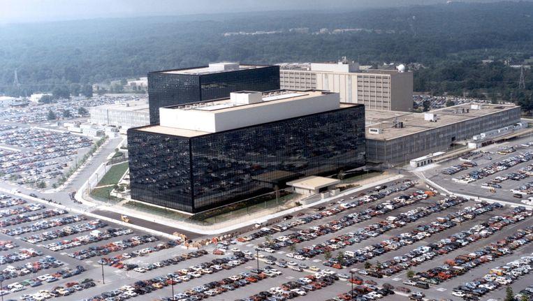 Het hoofdkantoor van de NSA in de staat Maryland. Beeld Getty Images