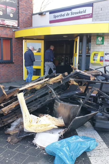 Weken niet sporten door brand in De Kroon in Rijssen