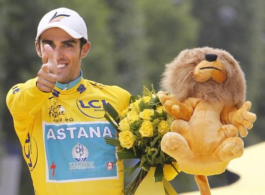 In 2010 won Contador de Tour de France. Tijdens een rustdag testte hij positief op clenbuterol.