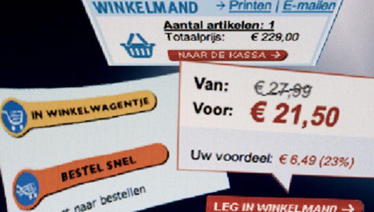 Internetwinkels stijgen steeds meer in populariteit. Foto ANP Beeld