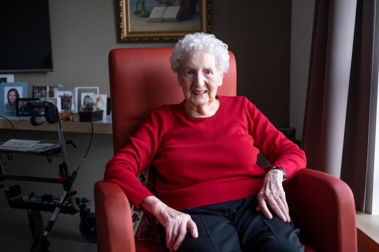Juliëtte Steen viert haar 100ste verjaardag in Seniorencentrum OLV te Bornem