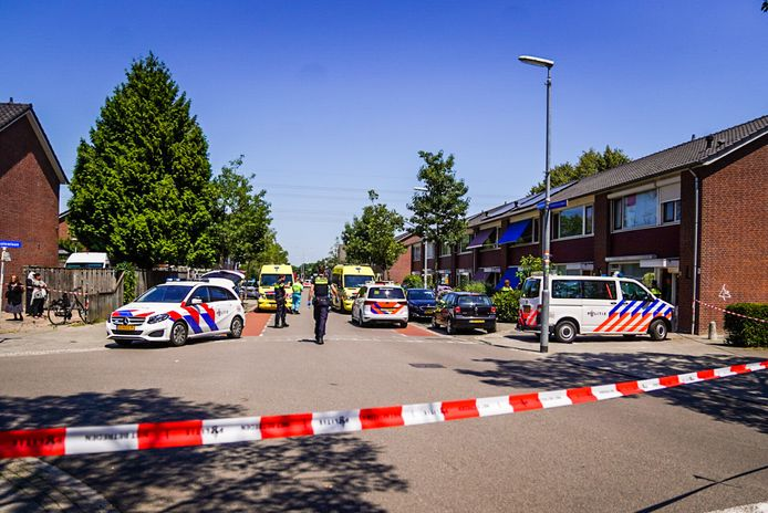 Steekpartij in Eindhoven.