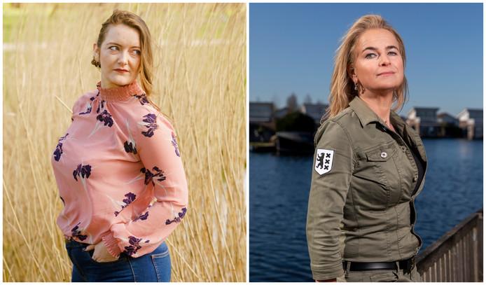 Mandy Sistermans (links) en Ineke de Wilde