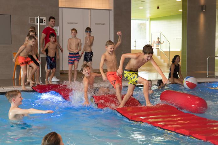 Bij de vorige lerarenstakingen konden basisschoolkinderen uit Raalte ook al gebruik maken van het beweeg- en zwemprogramma.
