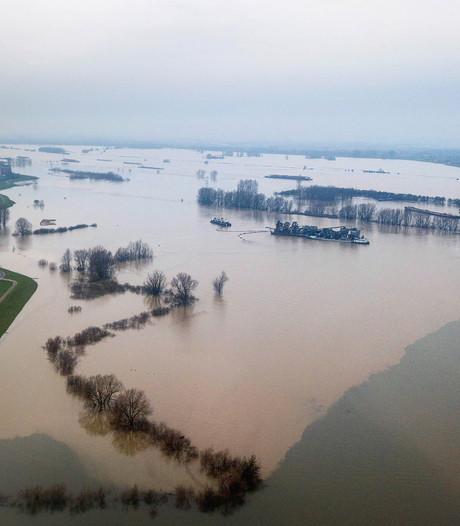 Opnieuw hoogwater verwacht: rivier stijgt naar 14 meter