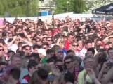 Zo vierde het Museumpark de overwinning van Feyenoord