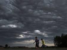 Dreigende wolken houden bermprikkers niet tegen