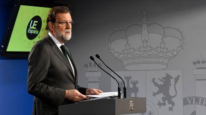 """Rajoy: """"We hebben kritieke toestand bereikt in Catalonië"""""""