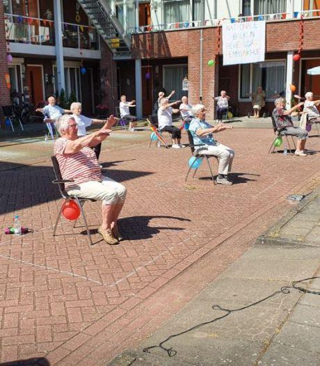 Luchtig coronanieuws: Achterhoekse ouderen sporten op 'Den Uyl is in den olie' & actie voor MST groot succes