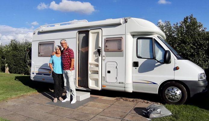 Marianne en Bob uit Papendrecht vieren momenteel vakantie in Odijk.