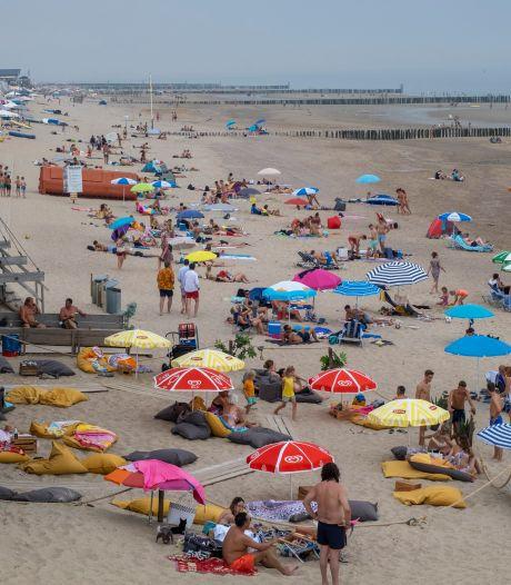 Drukte op het strand: 'Dishoek is deze zomer Lloret 2.0'