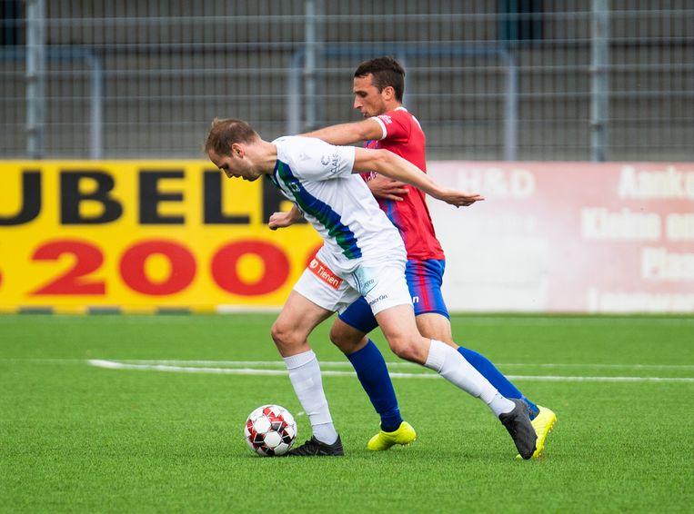 William Acke in duel met  Alexandre Teirlinckx van Londerzeel.