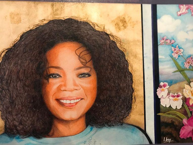 Binnenkort mag Luc ook langs bij Oprah Winfrey.