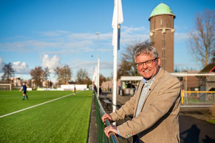 Dieks Potuyt diende Bergambacht als speler, vrijwilliger en bestuurslid.