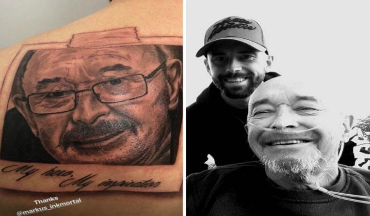 Steven Defour Eert Overleden Vader Met Tattoo Op Zijn Rug