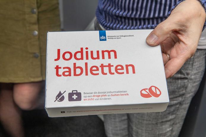 jodium tabletten; Goes; wijk mannee;