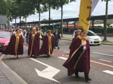 'Splinter van Jezus' trekt door Dordrecht