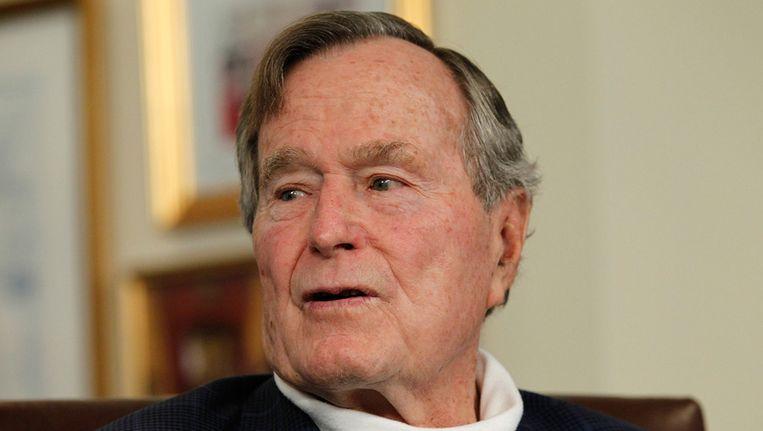 George H.W. Bush Beeld getty